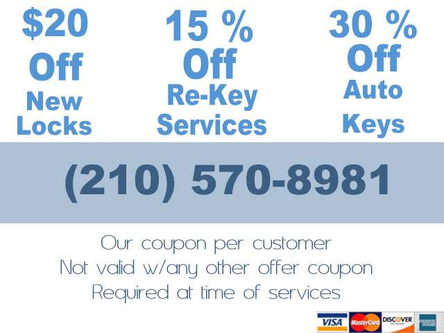 san antonio locksmith special offers